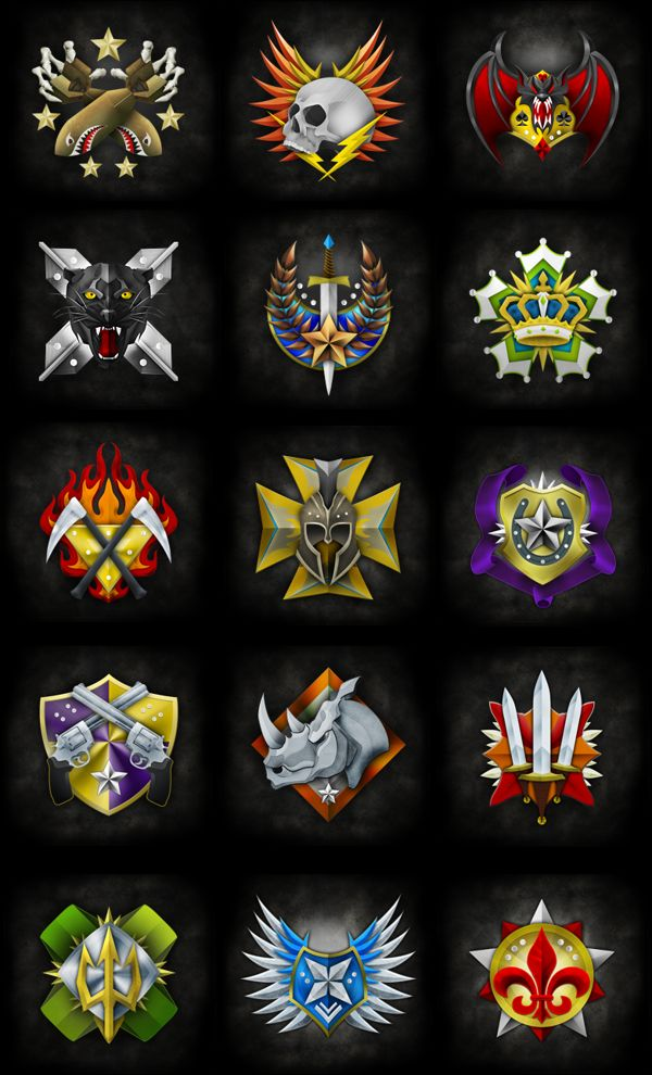 Prestige Emblem Design by Evan Eckard, via Behance