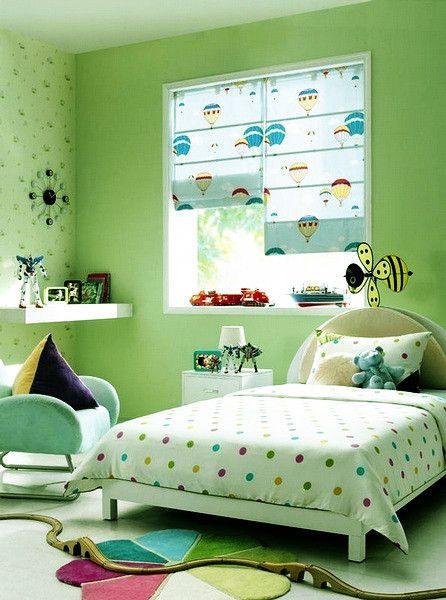Kids Room Decor Love The Hot Air Balloon Roman Shades Ideas Pinterest House Design Home And