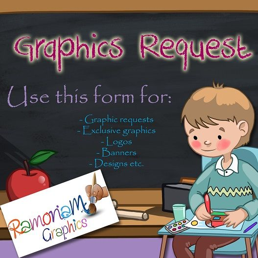 Custom clip art, graphics, logos, banners, designs etc. Depending on your choice, the service may be free! Just complete the request form