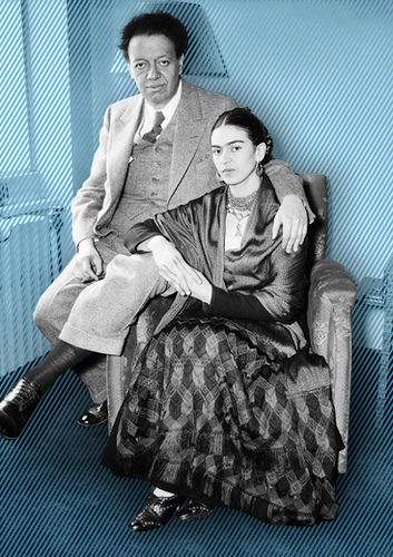 Frida Kahlo and Diego Rivera | Flickr - Photo Sharing!