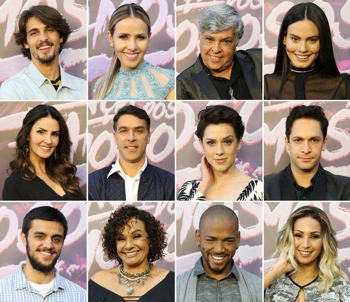 Participantes do 'Dança dos Famosos' 2016 (Foto: Carol Caminha/Gshow)