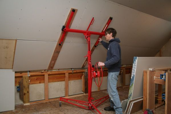 25+ best ideas about Drywall lift on Pinterest | Tools, Workshop ideas and Workshop