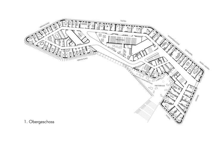 Glissando in White: Anton Bruckner University in Linz - DETAIL-online.com - the portal for architecture