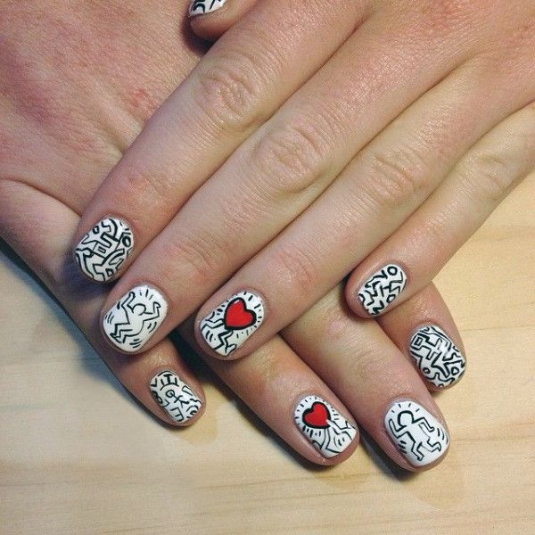 Nail Art History: 17 Best Images About Sartle: Art History Nail Art On