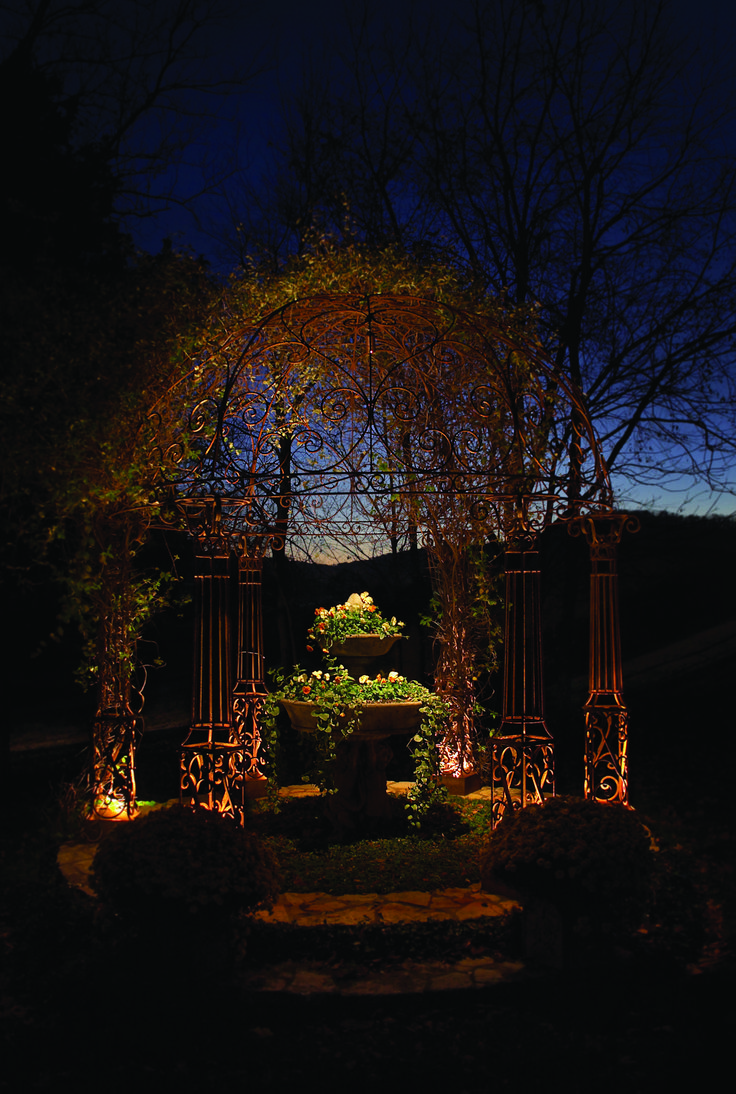 Pin pergola lighting on pinterest - Find This Pin And More On Garden Lighting