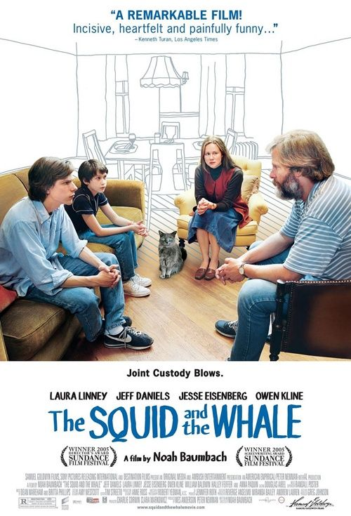 The Squid And The Whale, Movie Poster