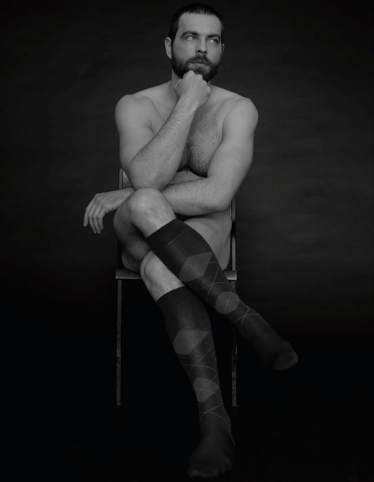 Tom Schneider por Armin Morbach | Calcetín de mí | Homotography