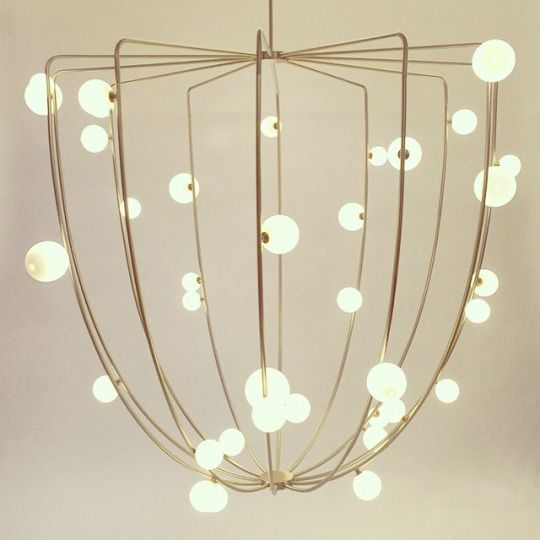 """""""CherryBomb"""" Cage ceiling lamp"""
