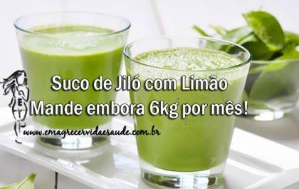 Suco de Jilo com limao