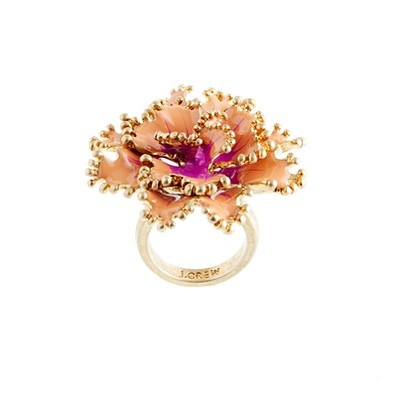 Carnation Ring by jcrew Ring jcrew ... and usually jcrew is not