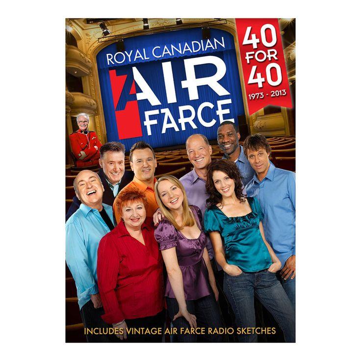 Air Farce: 40 For 40, 1973-2013 - CBCCNSUMER Online eStore