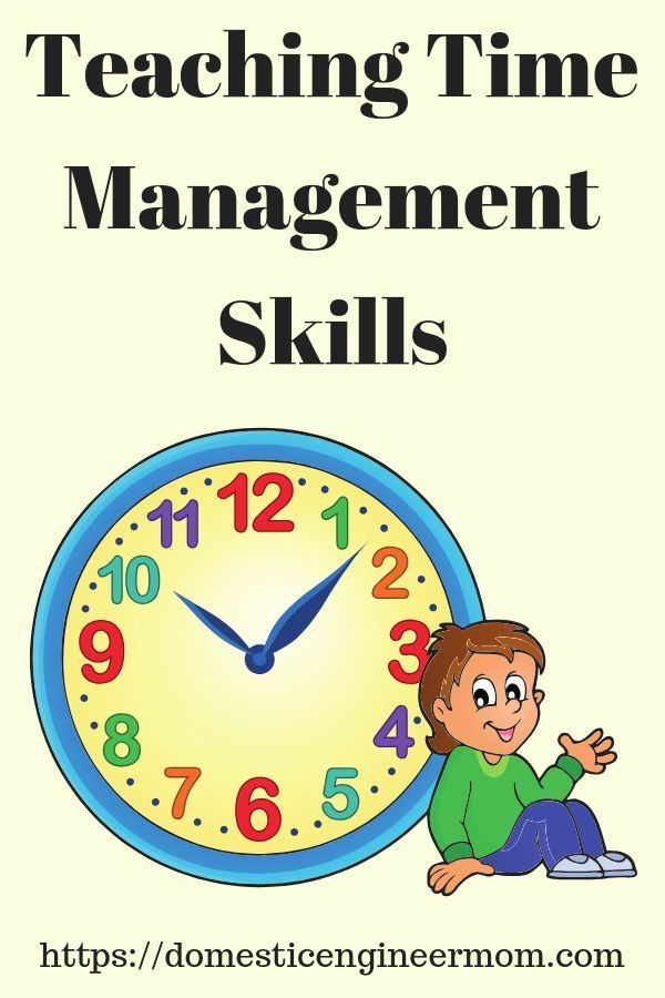 Time Management Is Important Learn How To Teach Time Management Skills To Your Chil Time Management Skills Teaching Time Management Time Management Activities