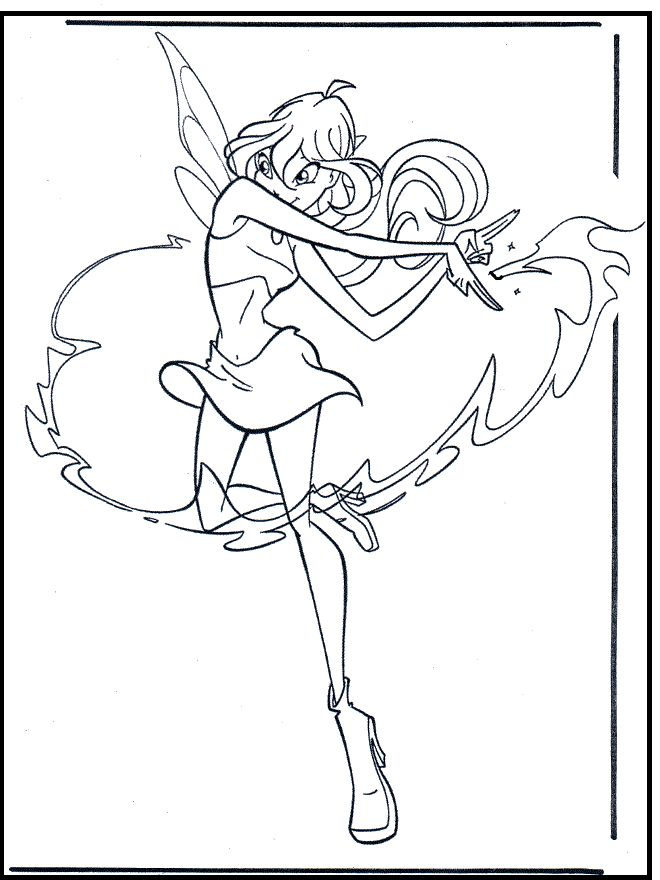 21 best Winx Club images on Pinterest  Winx club Coloring