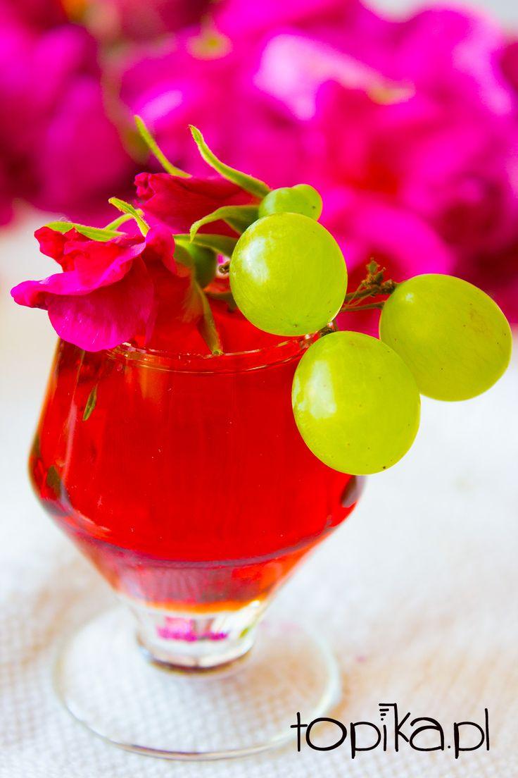 Topika: Nalewka winogronowo-różana