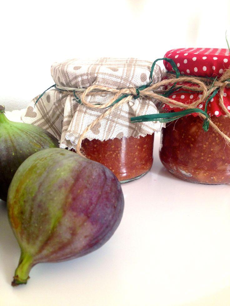 home made fig marmalade