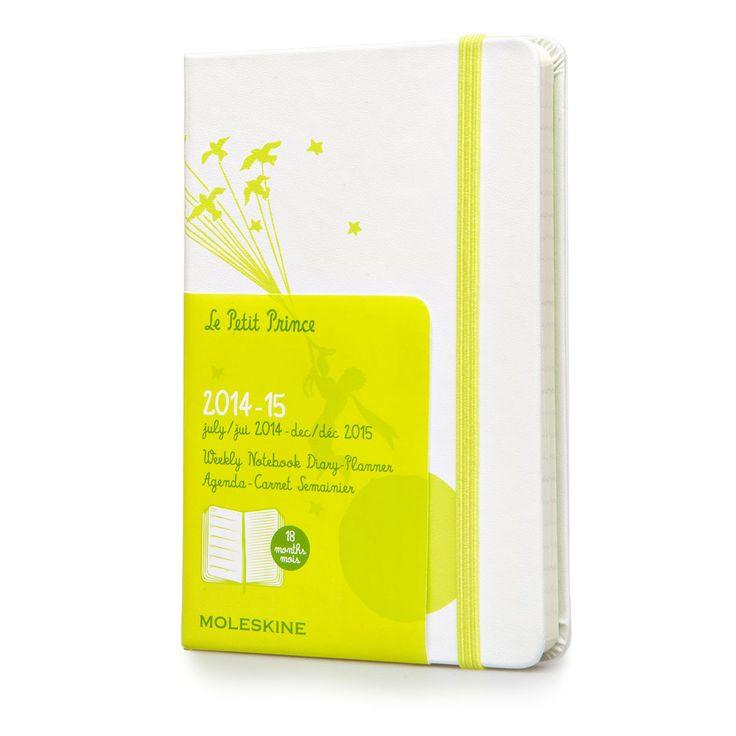 2014/2015 18 months - Le Petit Prince Weekly Notebook - Moleskine ®
