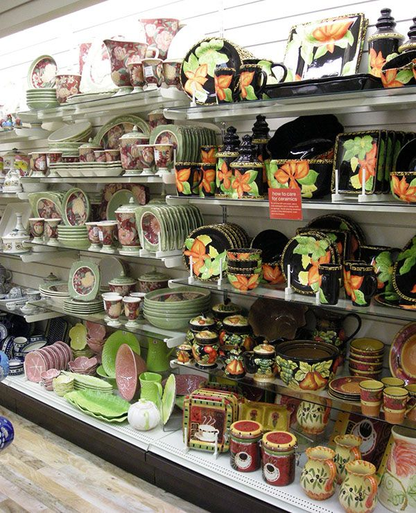 Visual merchandising and displays for home decor and hard for Casa home goods