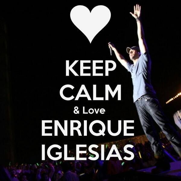 <3 <3 <3 My dream to meet Enrique iglesias <3 <3 <3 - Enrique Iglesias - Official Website
