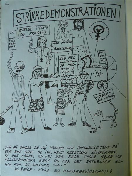 STRIKKEDEMONSTRATIONEN!!  Honesetrik via Ravelry