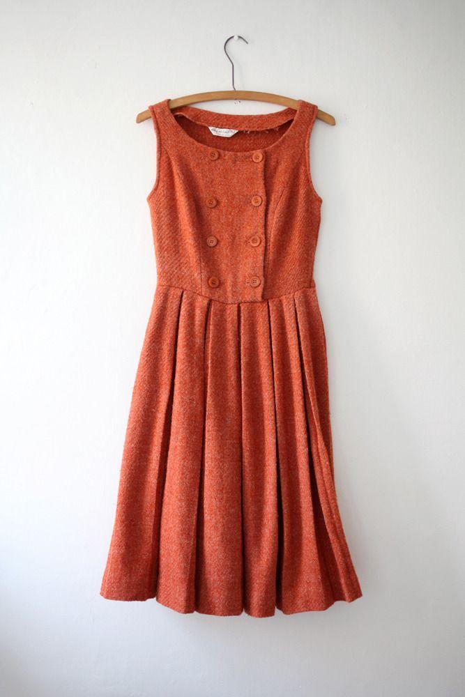 Rust Jumper Dress