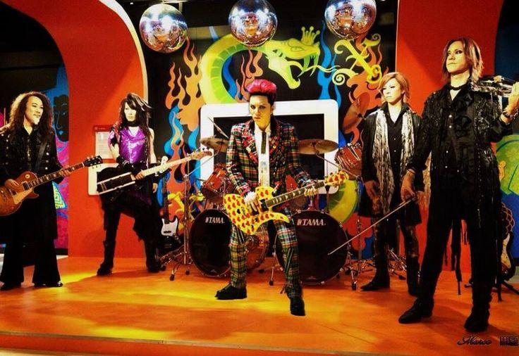 X-JAPAN wax figures.