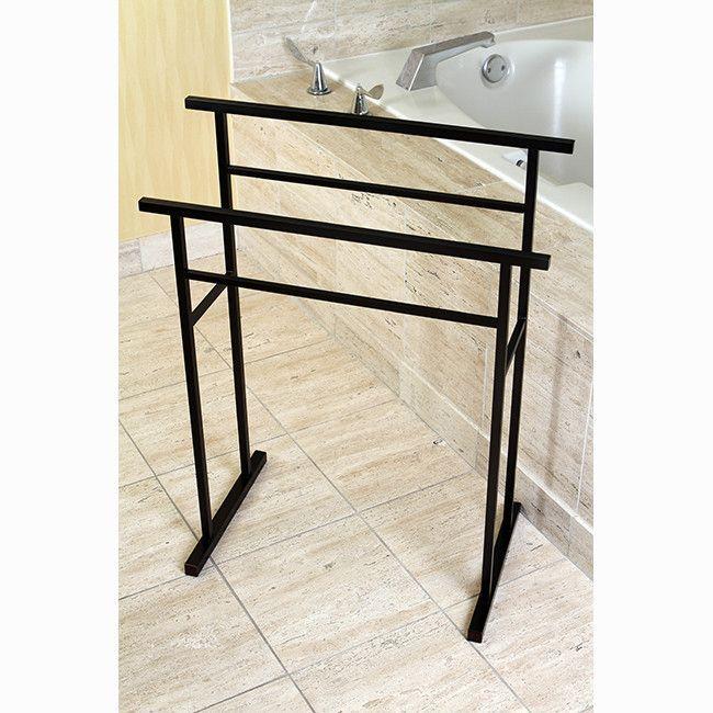 Edenscape Free Standing Towel Stand Bath Racksbath