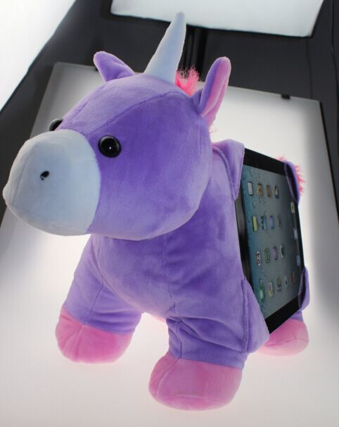 Stuffed Animal Tablet Holder
