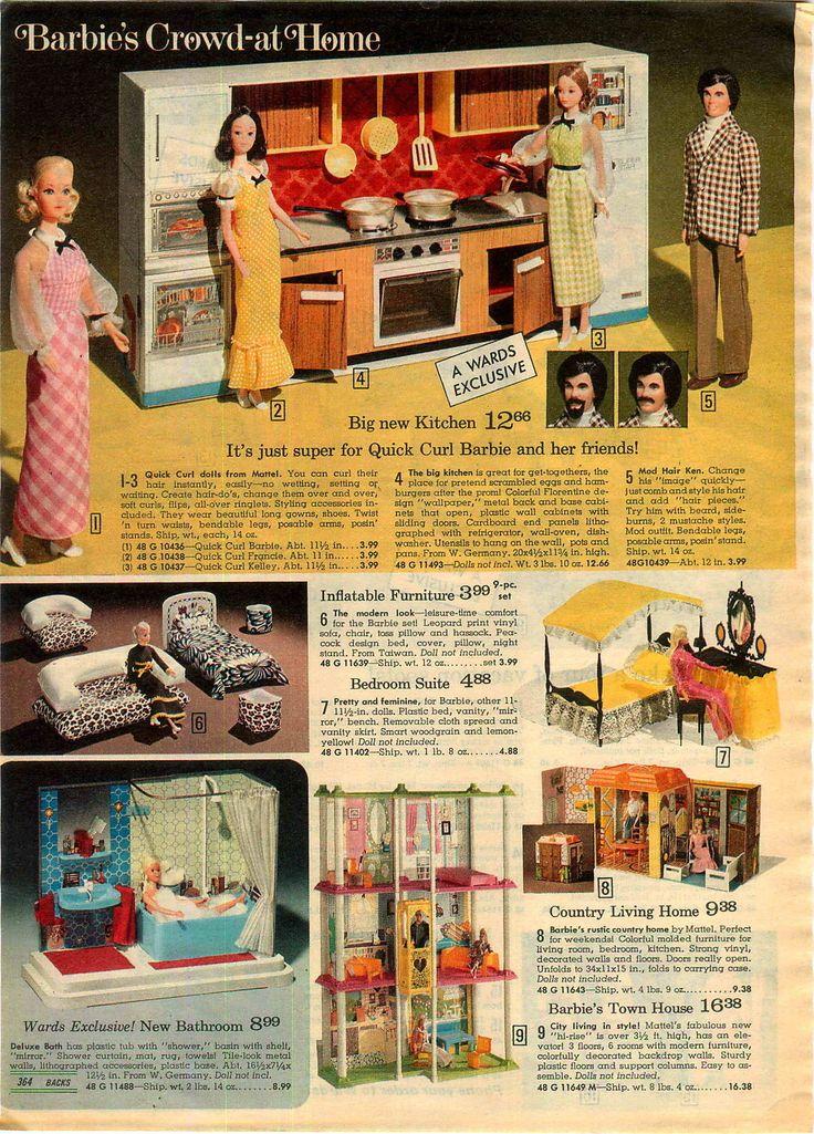 doll 3 pg barbie pool beach bus camper tent kitchen bathroom