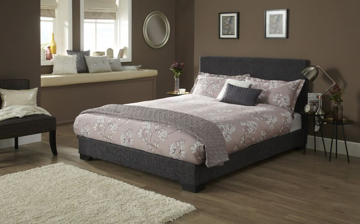 The Emily fabric bed frame in graphite would make a fabulous addition to any bedroom. The Emily has been upholstered in a stylish and durable graphite fabric.