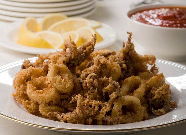 The Culinary Institute of America Food Enthusiasts :: Pan-fried Calamari