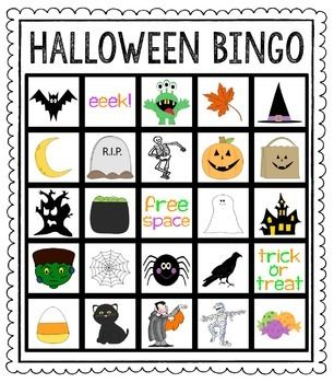 class set of 30 different cards + calling cards for the teacher... great for your Halloween party!