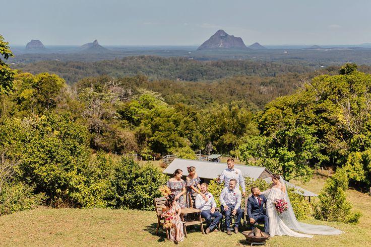 Bridal Party | Nat + Dizz's Maleny Wedding | Brisbane Wedding Photographer | Evernew Studio