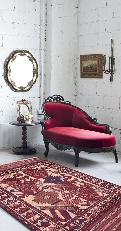 Lotus Garden Masterpiece Rug...they r pinning the rug, but I'm pinning the gorgeous chair!