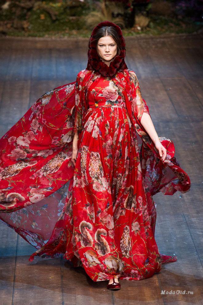 Мода и стиль: Сказочные платья в осенне-зимних коллекциях 2014-2015