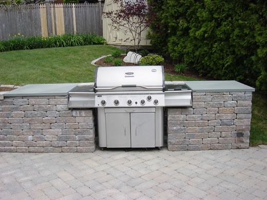 24 best images about outside on pinterest patio grill for Outdoor barbecues built in