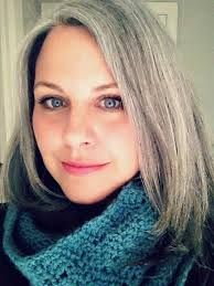Image result for gray hair transition hairstyles                                                                                                                                                                                 More