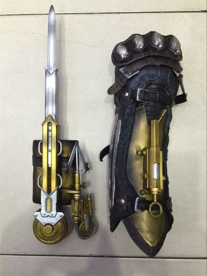 Pin Auf Assassins Creed Four Black Flag Pirate Hidden Blade Edward Kenway Cosplay Toys