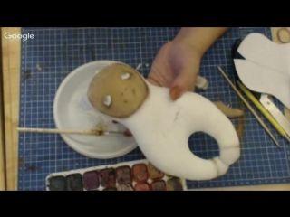 1 день. Кукольная мастерская. (текстильная матрёшка)Анастасия Голенева