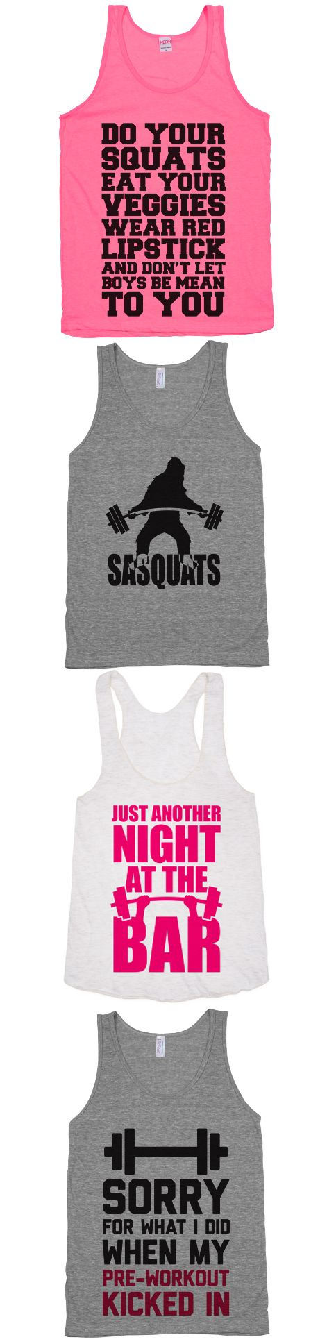 A collection for our gym rats.