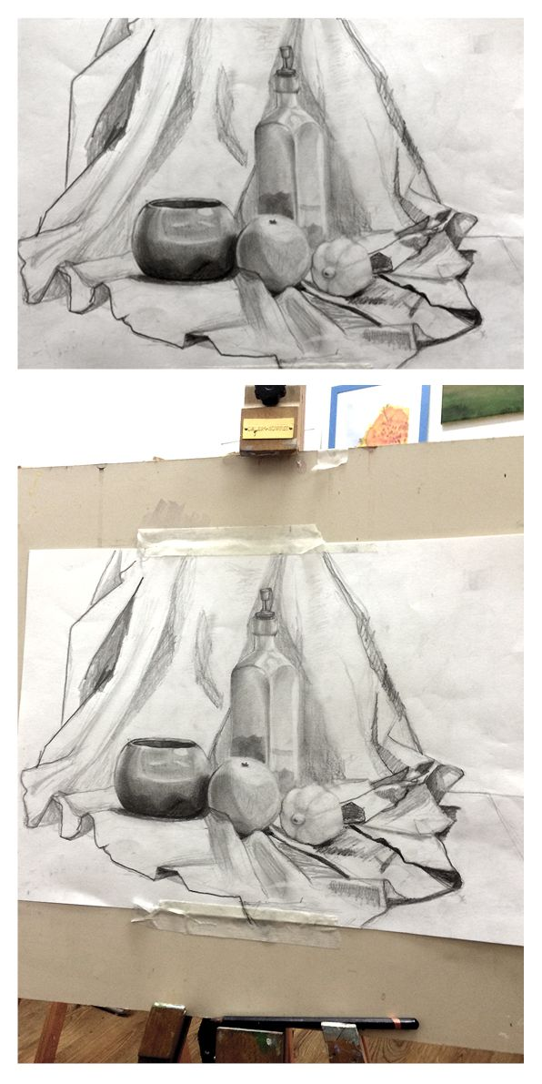Observational drawing. Composition, proportions, shape & tone study. www.myartdublin.com