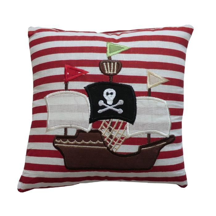 change the red to blue stripes, change the pirate ship to a sailboat and I am heading for this look