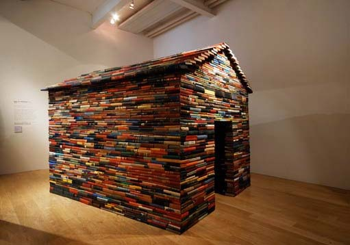 Books house Installation, Cardiff & Miller