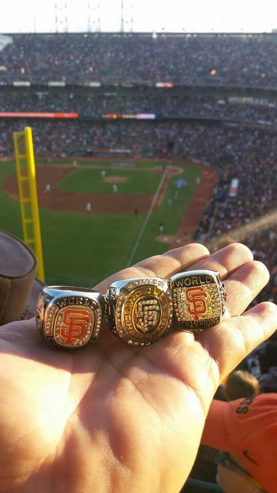San Francisco Giants World Series Champions  Ring Ceremony. #ThreeInFiveYears