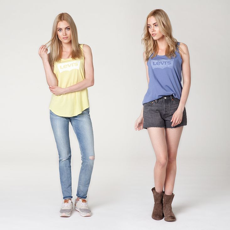#new #newproduct #newarrivals #tshirt #tank #relaxed #sunfrost #yellow #blue #jeans #shorts #trainers #shoes #levis #liveinlevis #levisstrauss #online #onlinestore