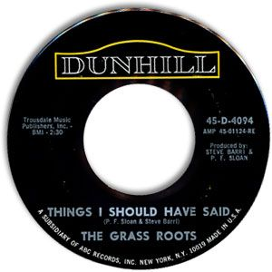 Things I Should Have Said - The Grass Roots (1966)