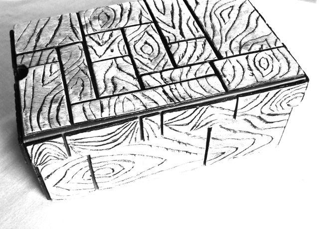 michele made me: Tutorial - Zebra Foam Tray Storage Box