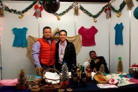 - Presentan artesanías creadas por Pinalenses Querétaro, a 10 de Noviembre del presente año, en el Auditorio Josefa Ortiz de...