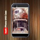 New England Patriots iPhone 4 Case Black Option White Available #iPhone4 #iPhone4 #PhoneCase #iPhone4Case #iPhone4Case