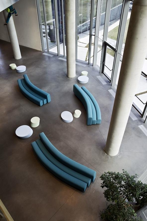 La Cividina - Osaka, design by Pierre Paulin  http://www.lacividina.com/home_it.php