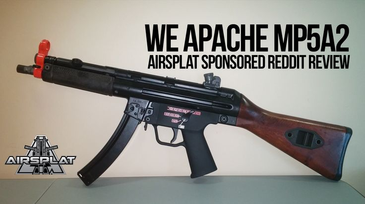 WE Apache MP5A2, Kydex Giveaway, 50% Off Airsoft Guns & More